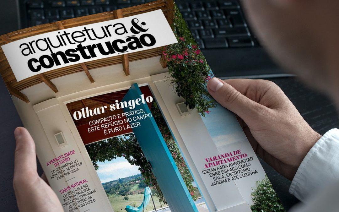 """Esquadrias Excellent são destaque em matéria da Revista """"Arquitetura & Construção"""""""
